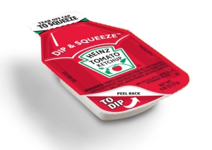 big ketchup packet